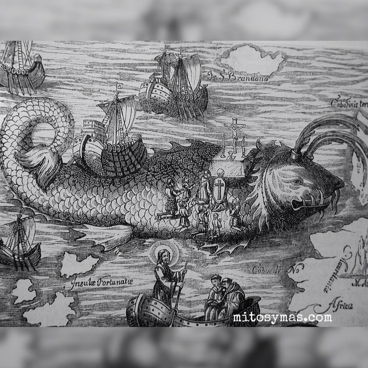 La isla tortuga y otras islas marinas monstruosas