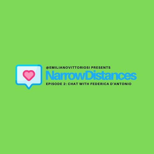 #02 Narrow Distances - Chat with @imreadingyourbook Federica D'Antonio
