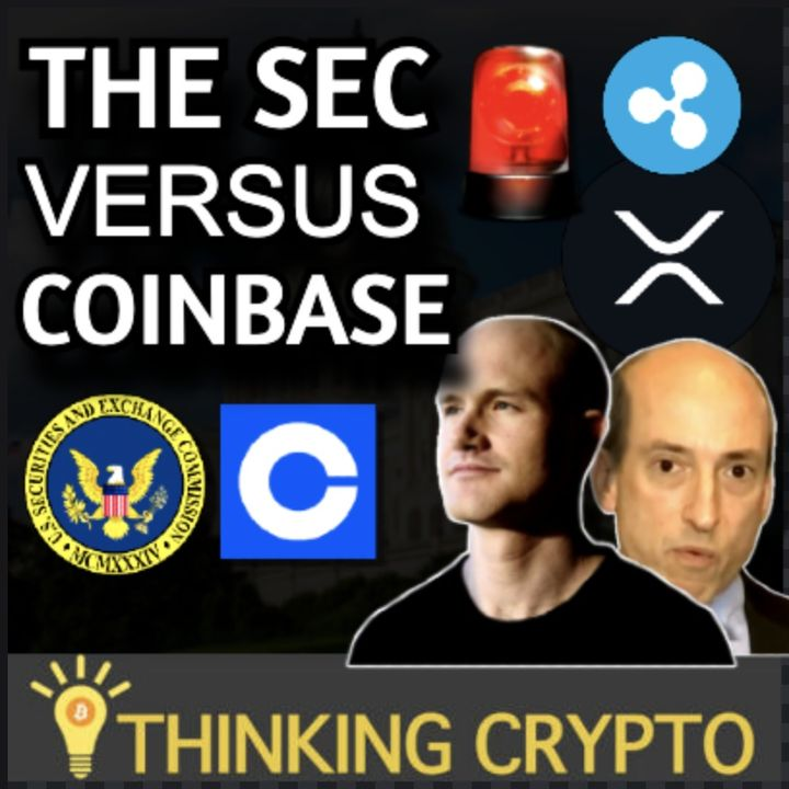 BREAKING - SEC to Sue Coinbase Over Crypto Lending   Ripple XRP Lawsuit