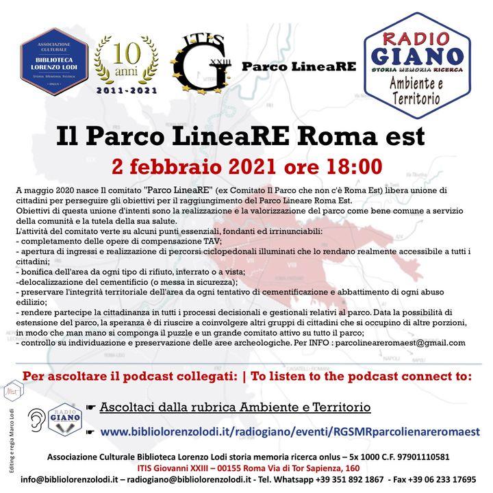 L'ACBLL presenta : Il Parco LineaRE Roma est