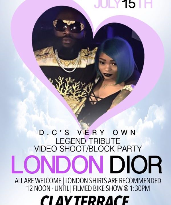 London Dior Tribute Interview w/ Love Ones Pt#1