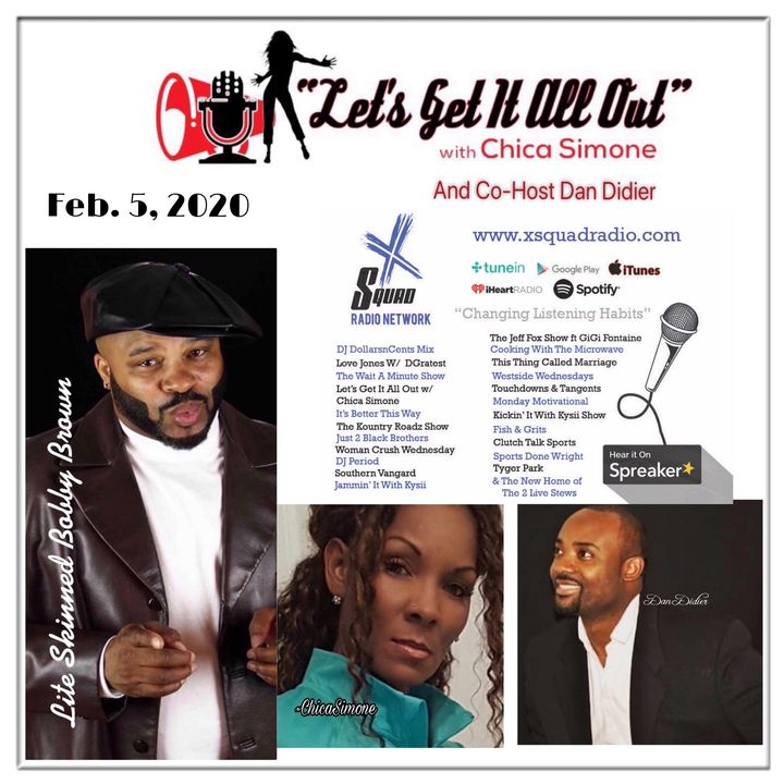On Demand Request From 02-05-2020 With Special Guest, Comedian Lite Skinned Bobby Brown!!