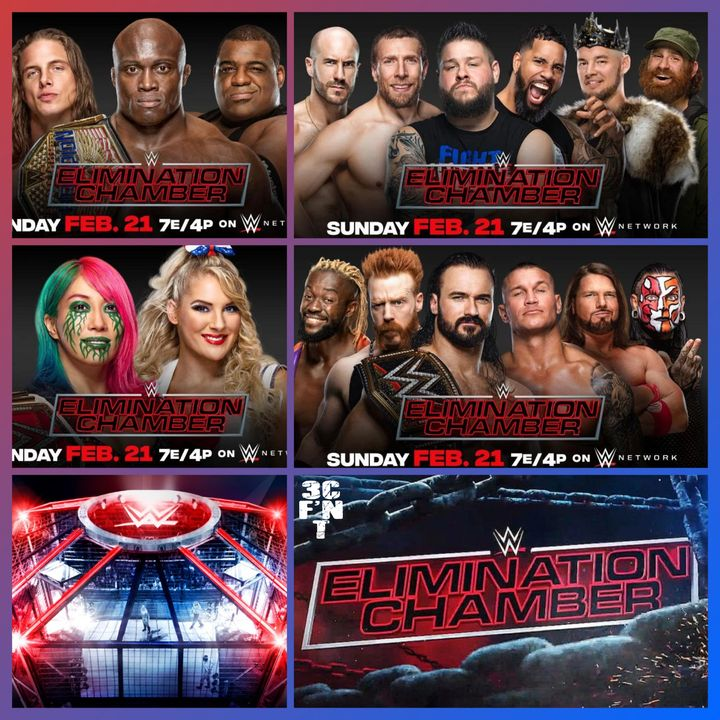 Elimination Chamber 2021 Predictions