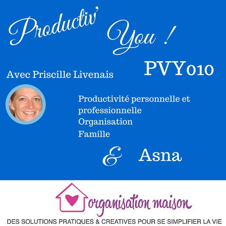 PVY EP010 ASNA - ORGANISATION MAISON