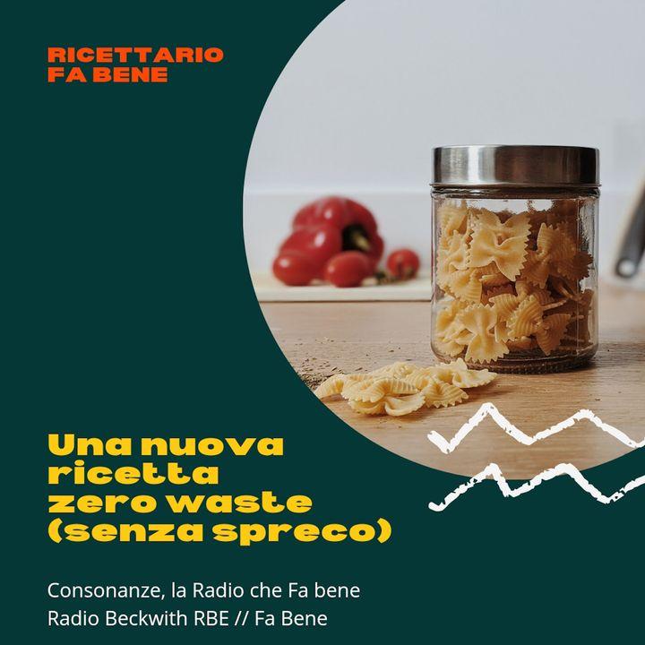 Ricettario Fa Bene - 9 giugno - ricetta zero waste e piramide alimentare