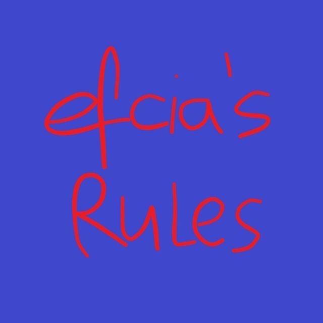 efcia's rules