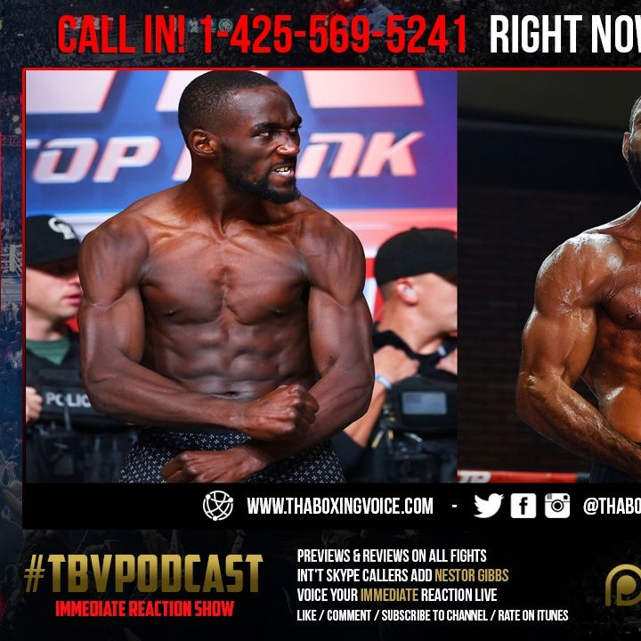 ☎️Immediate Reaction: Crawford vs. Brook 🔥Weigh-In Special Live Review❗️