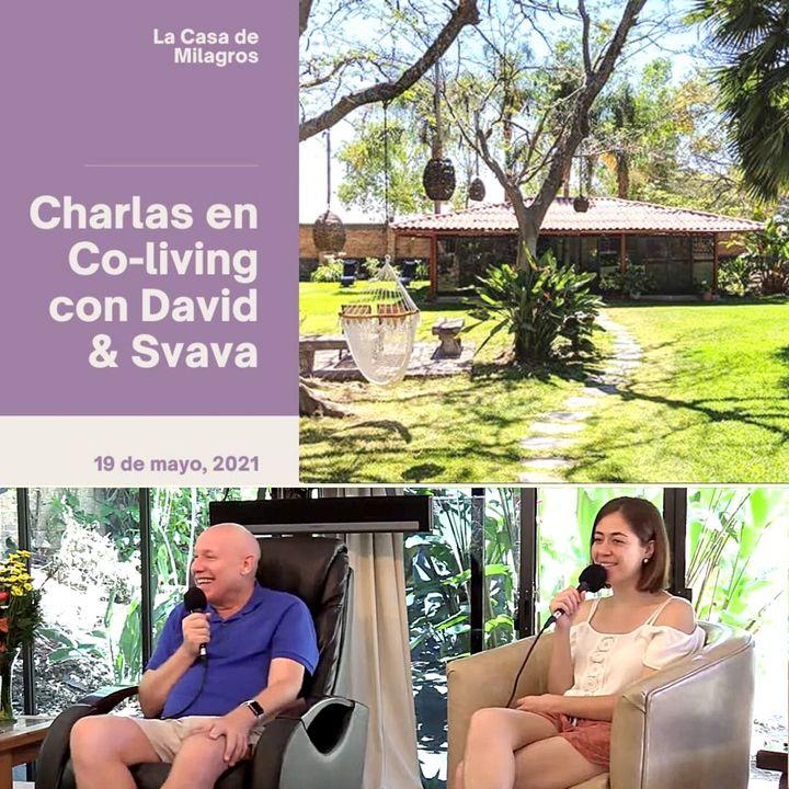 """19 de mayo - Encuentro de UCDM en el centro de Co-living  """"La Casa de Milagros"""" con David Hoffmeister y Svava"""