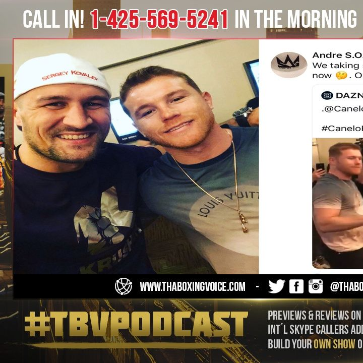 ☎️Canelo vs Kovalev: 🔥Andre Ward HATING or Setting Up The Come back For Winner❓