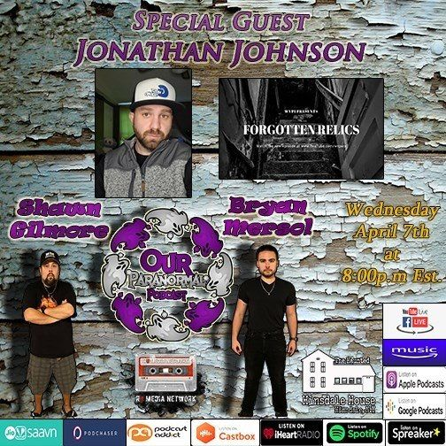 Our Paranormal Podcast #100!! Jeremy York!