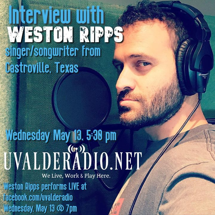 Weston Ripps Interview / May 2020