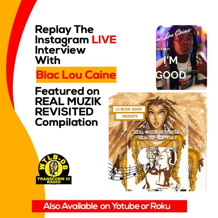 Real Muzik Revisited Compilation Interview with Blac Lou Caine