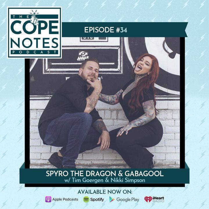 Spyro the Dragon & Gabagool w/ Tim Goergen & Nikki Simpson