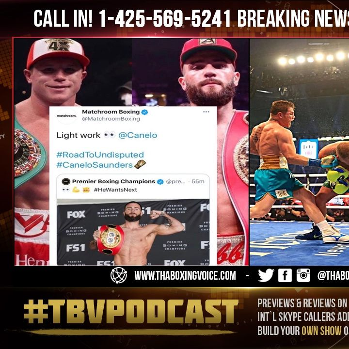 ☎️Billy Joe Saunders MADE💰8 Million For Canelo Fight Will Plant Go to DAZN For💰8 Million❓