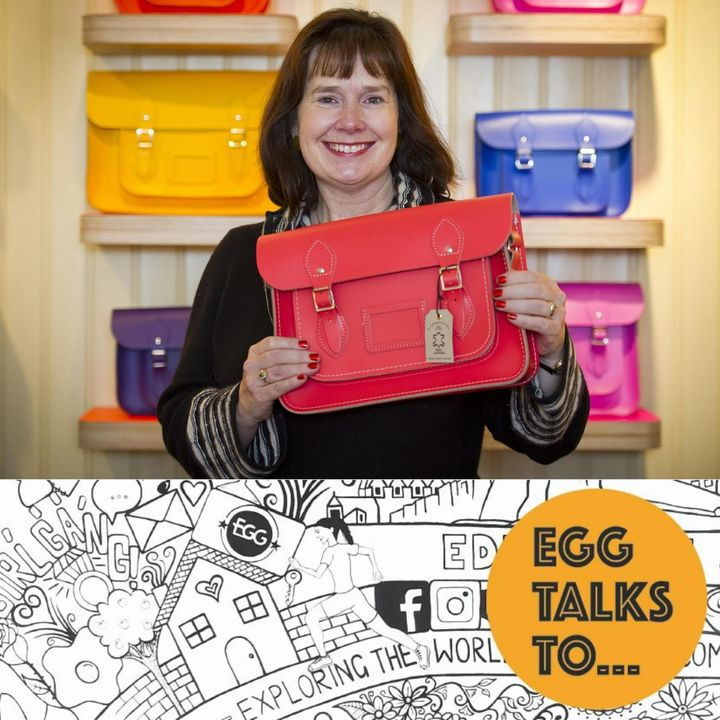 45 - with Julie Deane, Founder of The Cambridge Satchel Company