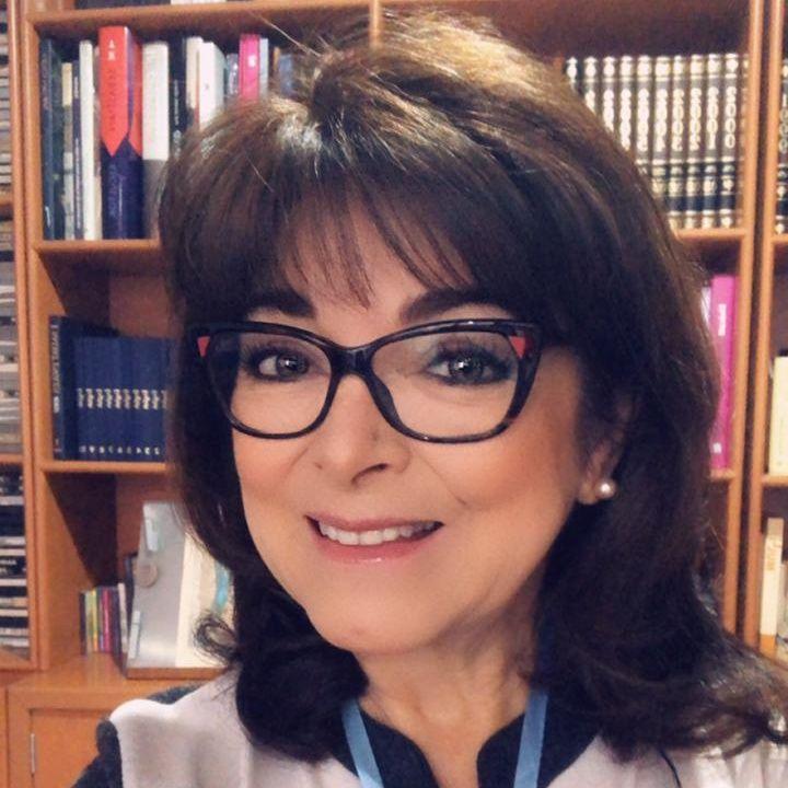 """La Dra. Rosa Argentina Rivas Lacayo con el tema: """"La Humildad""""."""