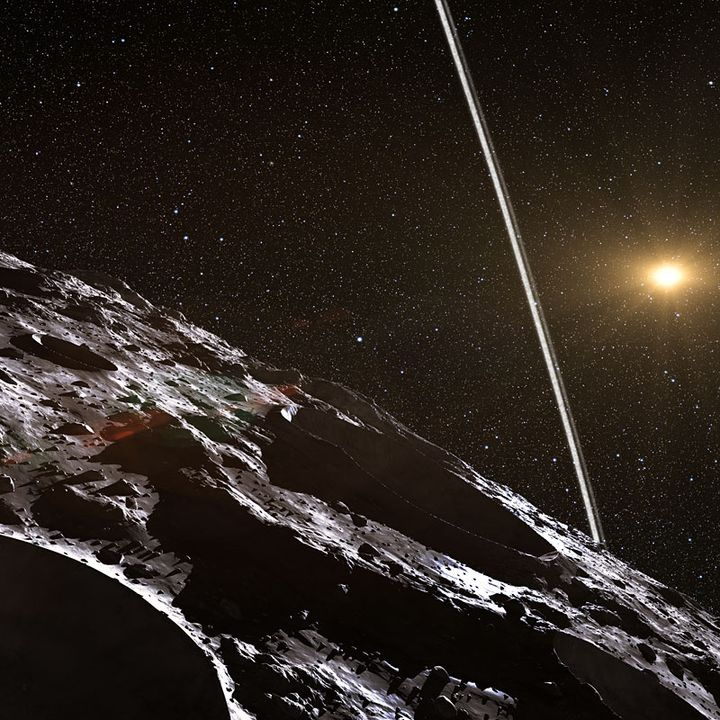 10E-19-An Asteroid with a Comet Orbit [2013JD4]