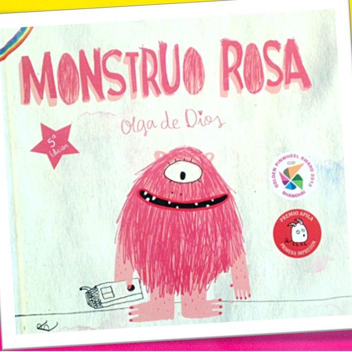 Monstruo Rosa, cuento infantil para entender la diversidad de Olga de Dios
