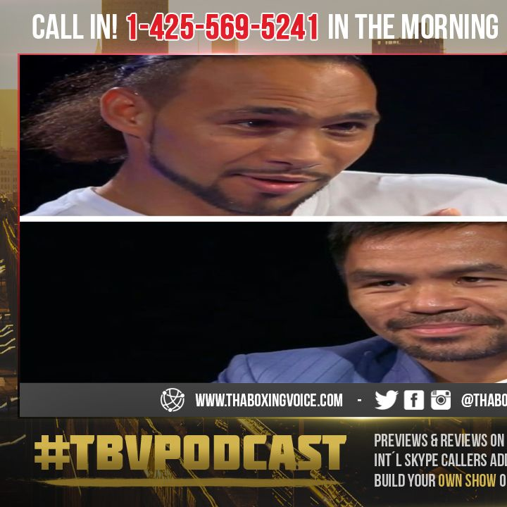 ☎️Pacquiao Will KO Thurman😱Call Out Mayweather🔥Baffled Khan Claims Deal Done😳