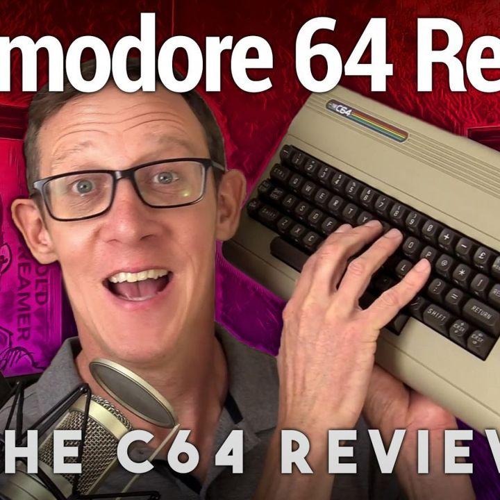 The C64 'Maxi' Review - Full-Sized Commodore 64 Replica