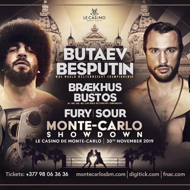 Preview Of Dazn Card Headlined By Alexander Besputin Vs Radzhab Butaev For WBA Welterweight Title