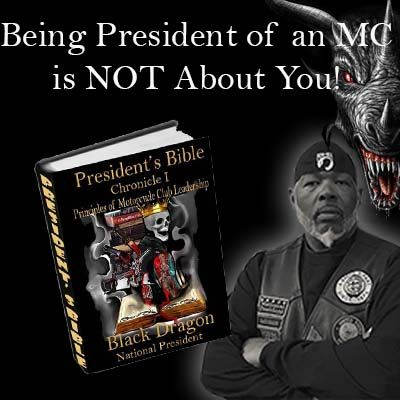 Being President is NOT About You