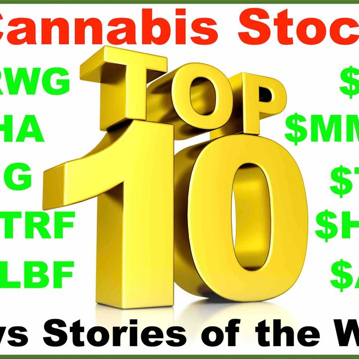 Top 10 Cannabis Stock Stories of the Week (June 1, 2020)