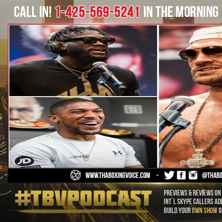 ☎️Tyson Fury Thinks Deontay Wilder KNOCKS OUT Unified King Anthony Joshua In One Round😱