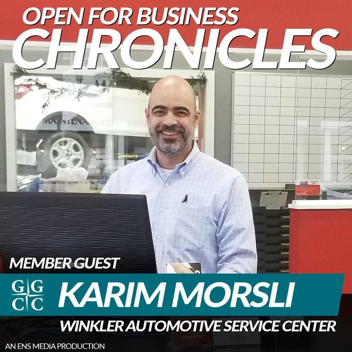 Karim Morsli - Winkler Automotive Service Center