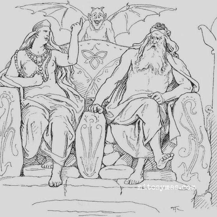 La historia de Agnar y Geirrod. Mitología Nórdica Pt. 4.