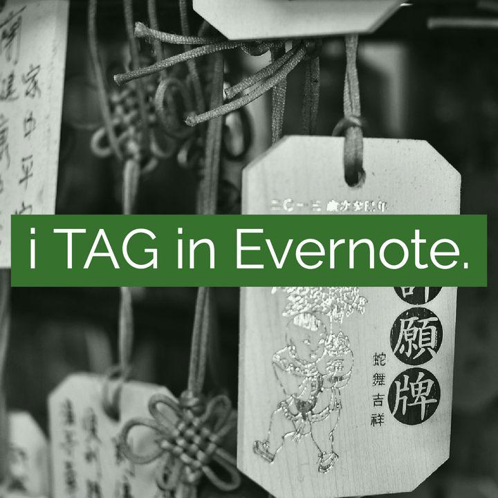 L'uso dei TAG in Evernote