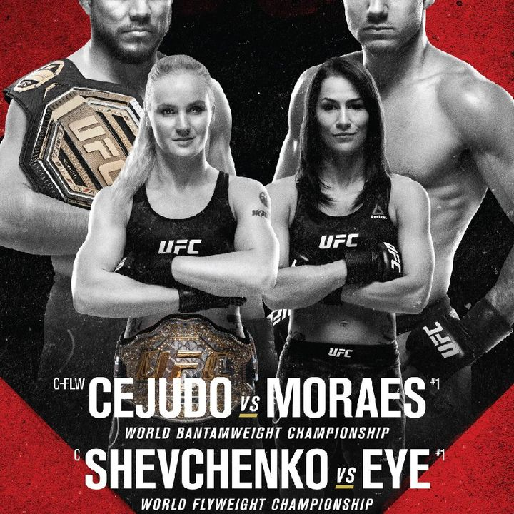 Preview Of The Huge UFC 238 Card Headlined By Henry Cejudo-Marlon Moraes For The Vacant Bantamweight Title Plus A Stacked Card!!!