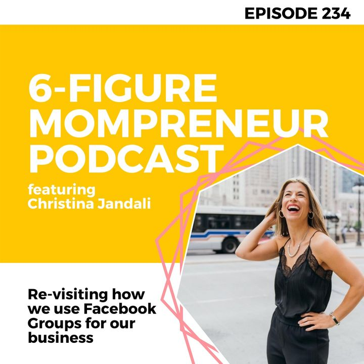 Re-visiting how we use Facebook Groups for our business featuring Christina Jandali