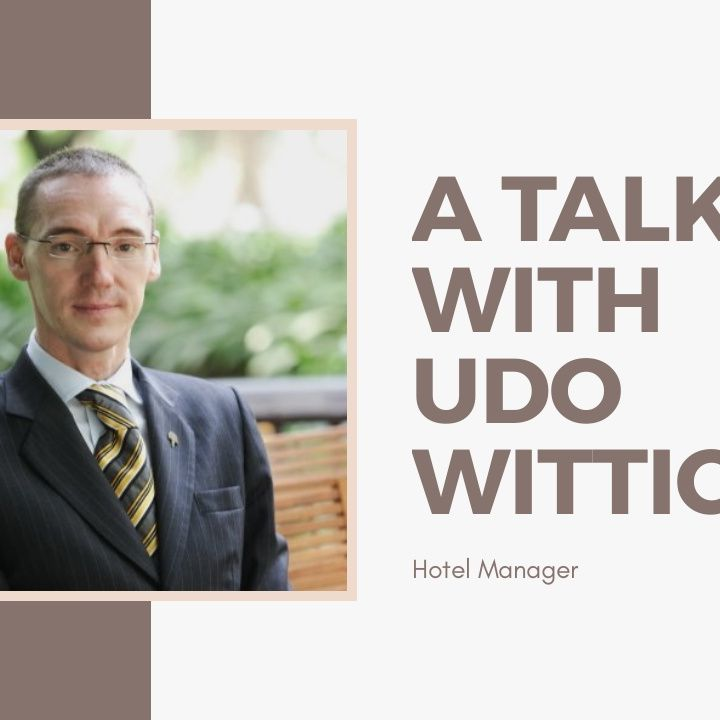 [ HTJ Podcast ] Interview with Udo Wittich - Hotel Manager