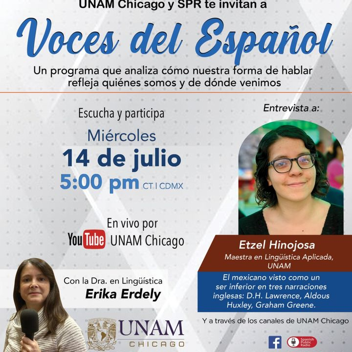 VOCES DEL ESPAÑOL 075 Etzel Hinojosa, Mtra. en Lingüística Aplicada