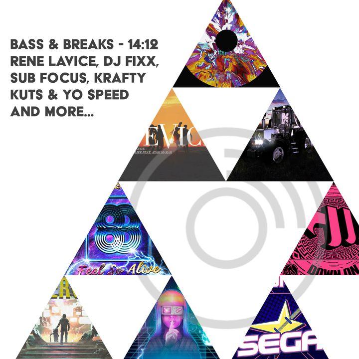 14:12 - Rene LaVice, DJ Fixx, Sub Focus, Krafty Kuts & Yo Speed and more...