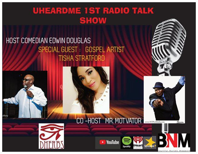 Uheardme1st  RADIO TALK SHOW -GOSPEL ARTIST TISHA STRATFORD