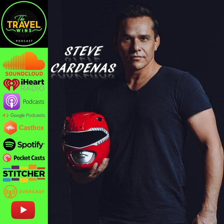 Steve Cardenas | how playing the Red Ranger in Power Rangers lets him travel the world