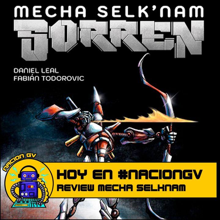 Comic: Mecha Selknam - Review | 13 de diciembre