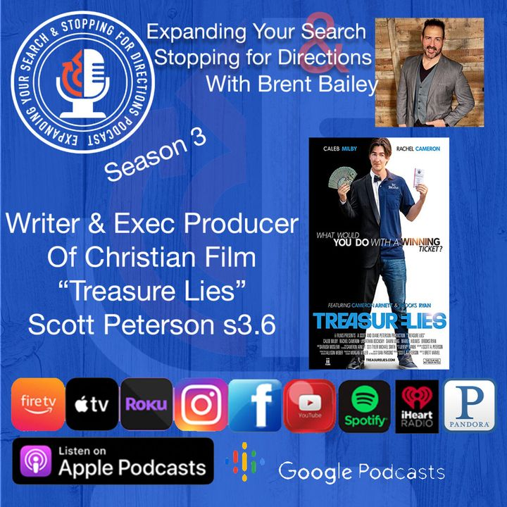 "Writer & Executive Producer of the film ""Treasure Lies"" Scott Peterson s3.6"