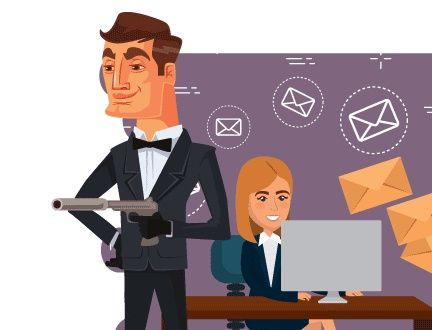 Human Resource Emails Sent to James Bond