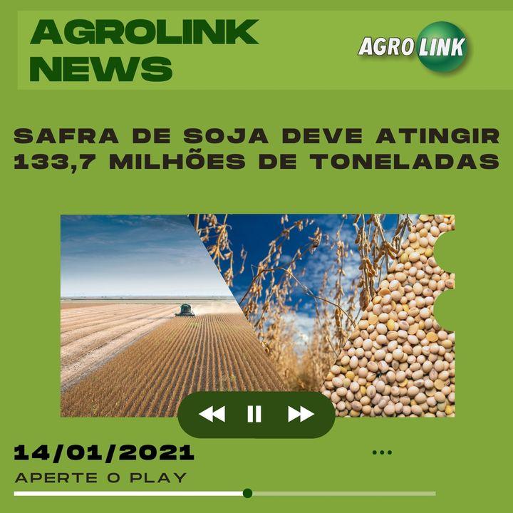 Agrolink News - Destaques do dia 14 de janeiro