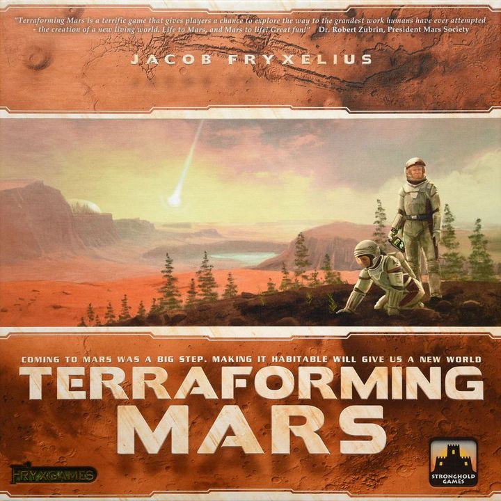 Out of the Dust Ep46 - Terraforming Mars