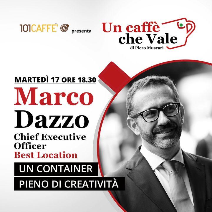 Marco Dazzo: Un container pieno di creatività