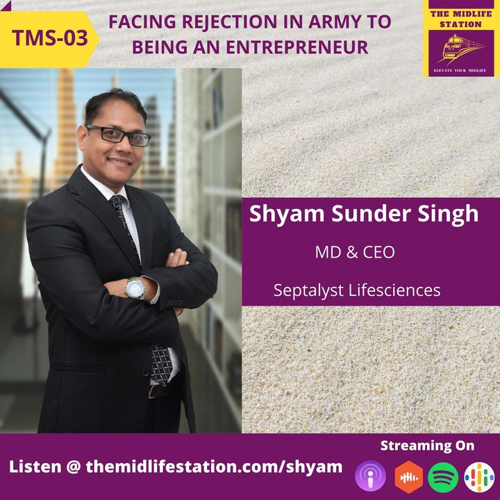 Facing Rejection in Army to Being An Entrepreneur with Shyam Sunder Singh:TMS03