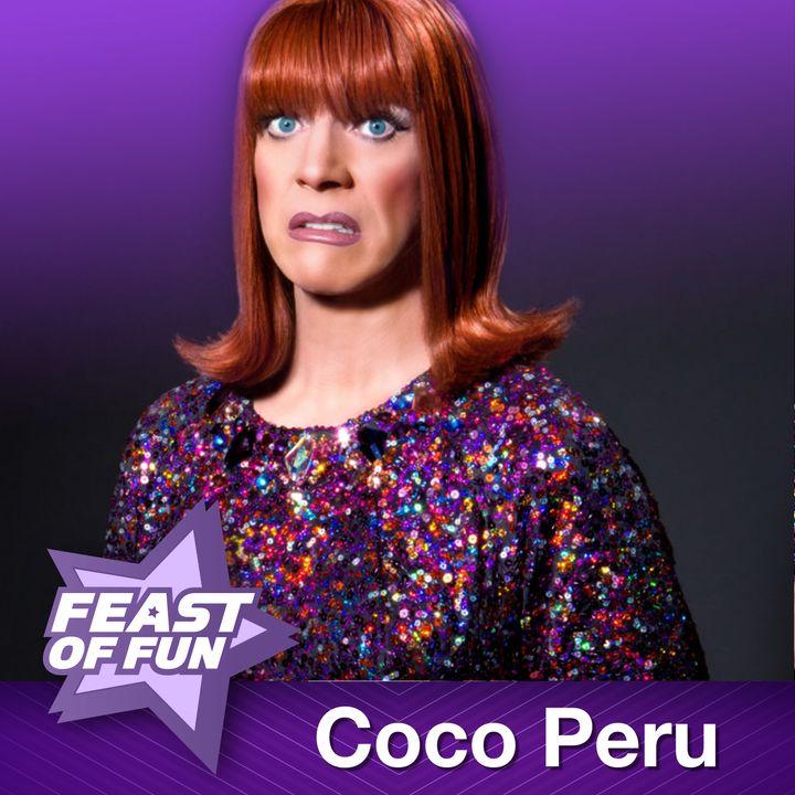 Coco Peru Has a Strong Backbone
