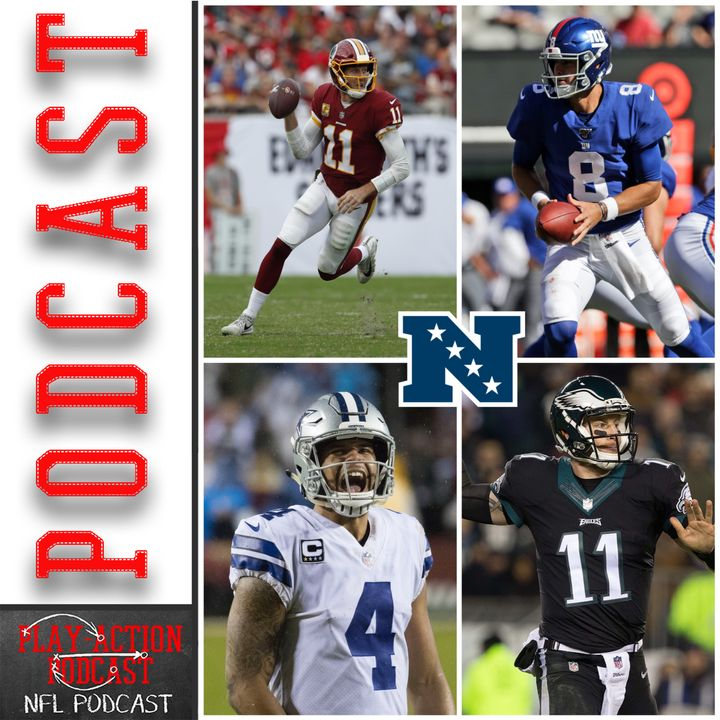 Play-Action Podcast 003: NFL Preview NFC East