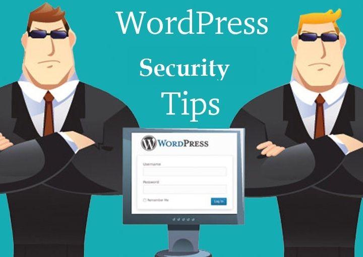 Top Five WordPress Security Tips