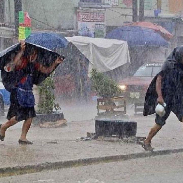 Fuertes lluvias en Guerrero, Michoacán, Nayarit, Colima y Jalisco
