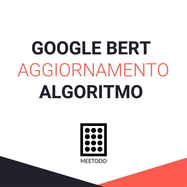 GOOGLE BERT aggiornamento dell'algoritmo cosa cambia nell'indicizzazione?